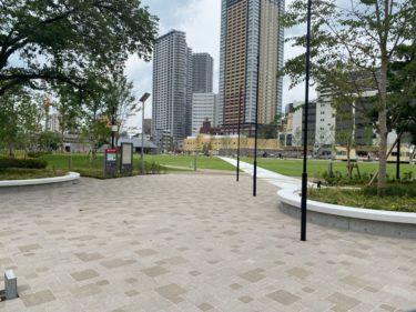 防災公園こと「イケ・サンパーク」かなり完成も、思ったより小さいかも?
